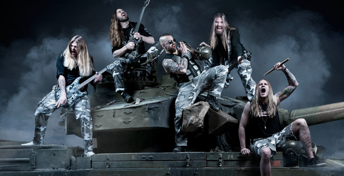 SABATON – enter charts worldwide, number #1 in Sweden, Germany, Switzerland