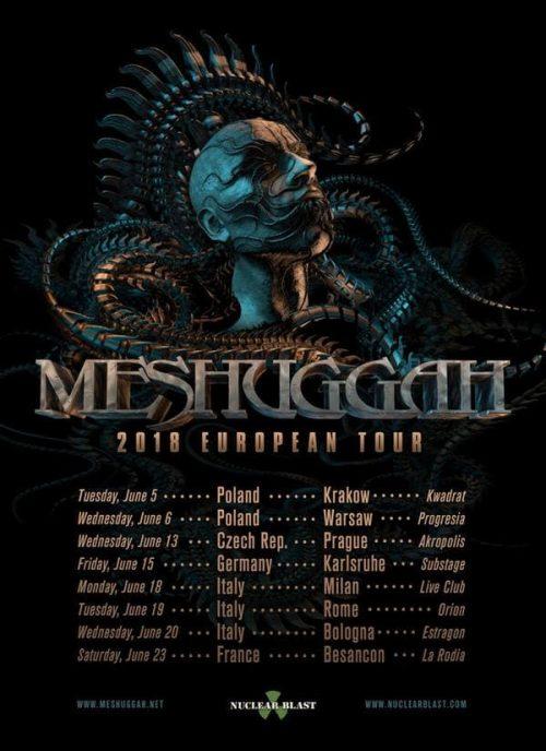 Meshuggah Tour 2018