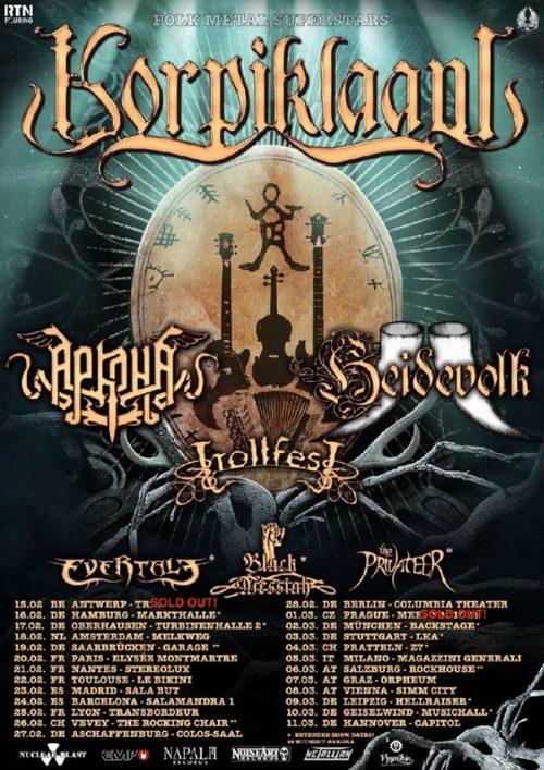Korpiklaani Tour 2018
