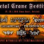 METAL CRANE FESTIVAL, Nosturi, Helsinki January 19-20, 2018