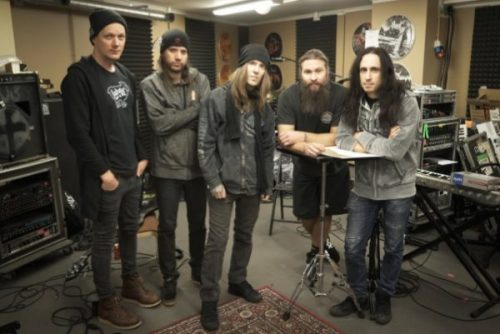 Children of Bodom with Producer