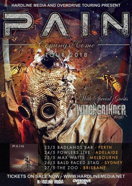 PAIN Australian Tour 2018