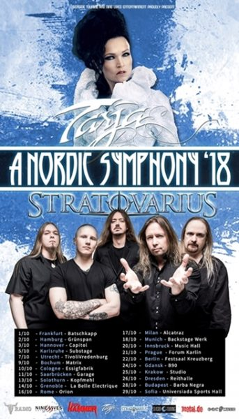 Tarja Turunen & Stratovarius - A Nordic Symphony Tour 2018