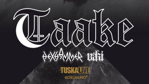 Norwegian black metal veterans TAAKE to perform at Korjaamo, Helsinki on 27.4.2018