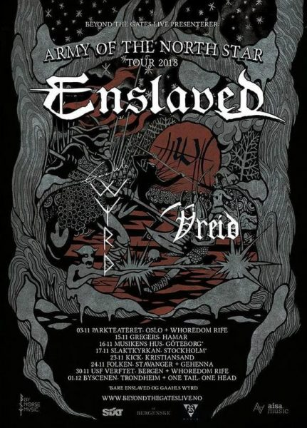 Enslaved - Army Of The North Star