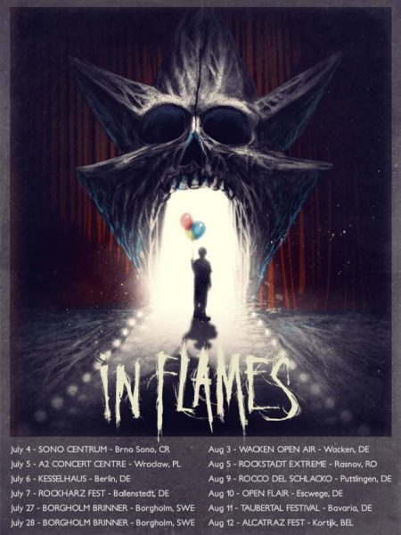 In Flames tour 2018