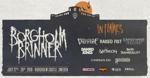 Borgholm Brinner Festival 2018