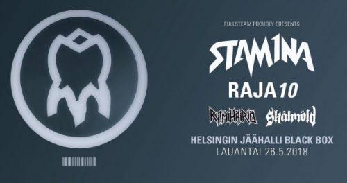 Stam1na + Rytmihäiriö + Skálmöld @ Black Box Jäähalli, Helsinki – 26.05.18