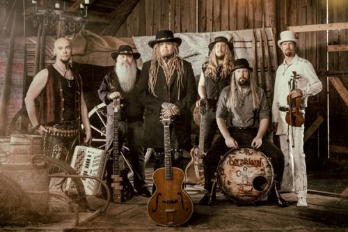 KORPIKLAANI release thought-provoking 'Harmaja' music video