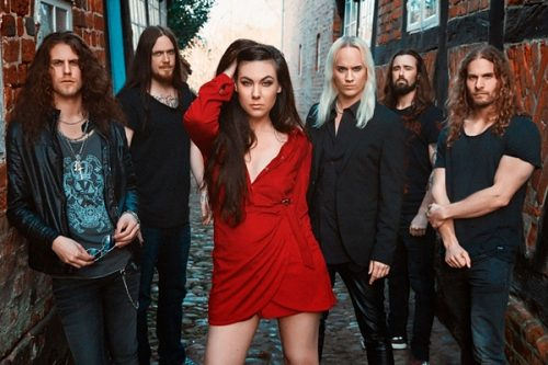 "AMARANTHE Release ""Inferno"", Third Single From Upcoming Album ""Helix"""