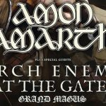 Amon Amarth Team Up With Arch Enemy, At The Gates, & Grand Magus To Tour North America In Autumn 2019!
