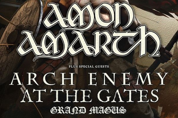 Amon Amarth tour 2019