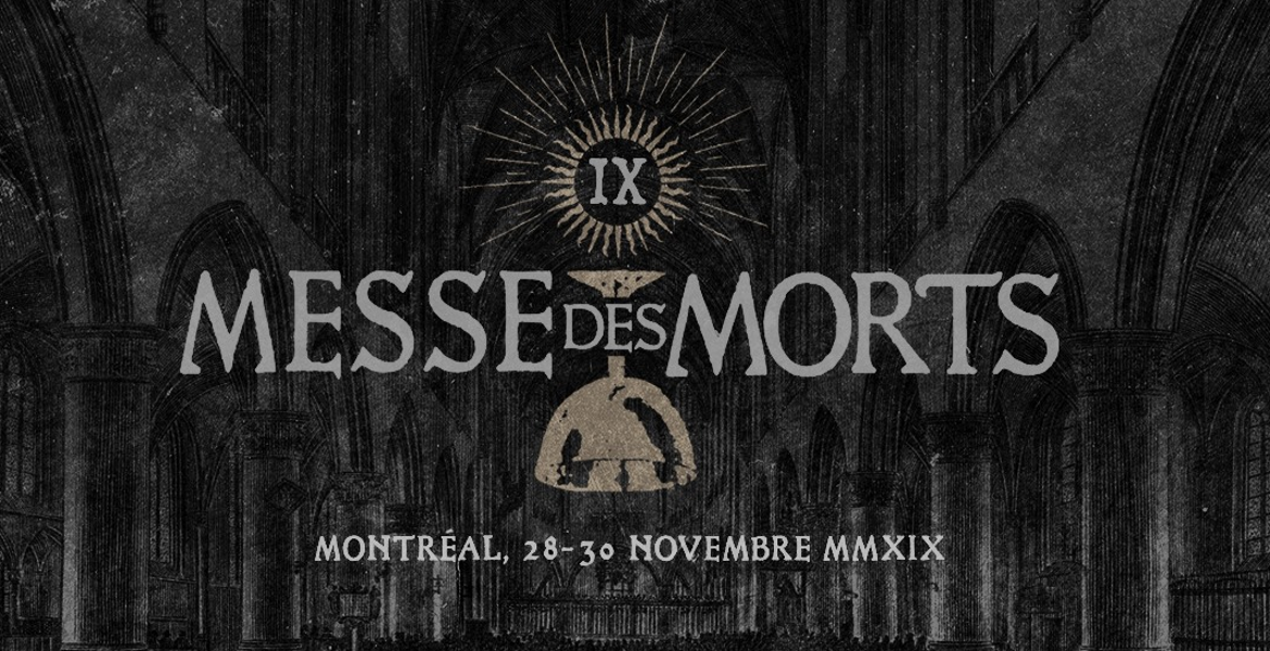 ANCIENT, VARGRAV, + many more added to Messe Des Morts IX!