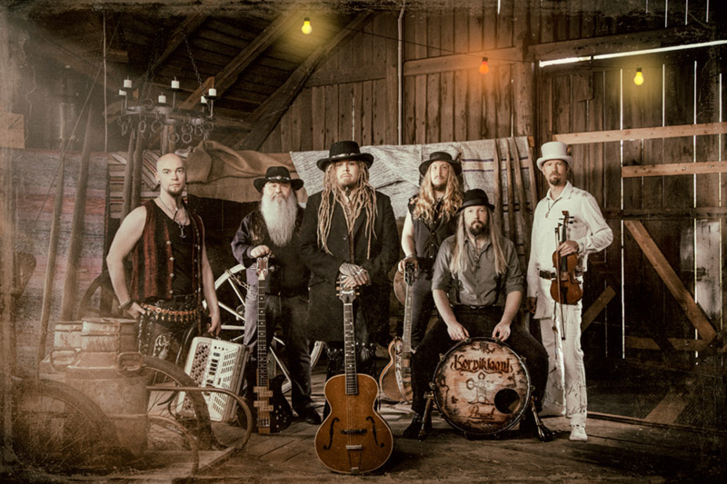 KORPIKLAANI unveil lyric video for 'Pivo Pivo' and Russian shows with TROLLFEST!