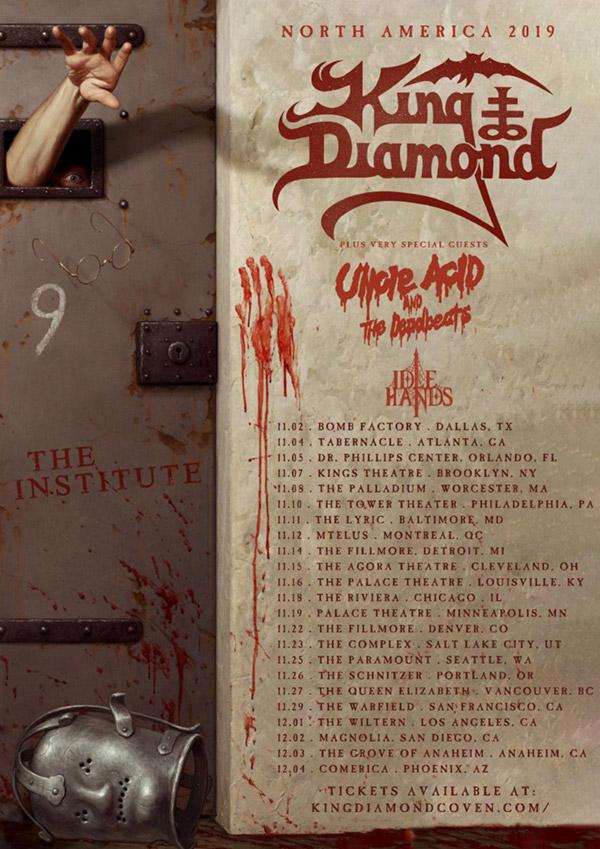King Diamond Tour 2019