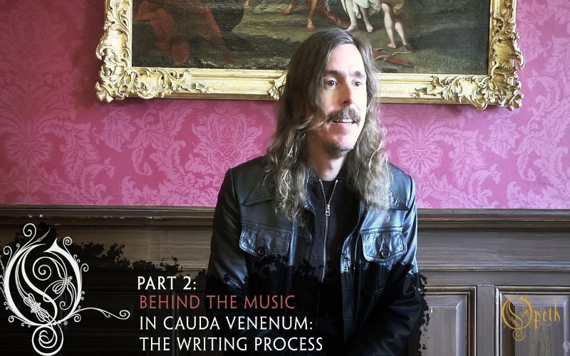 OPETH-Mikael Åkerfeldt talks writing process for In Cauda Venenum