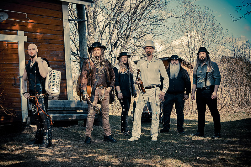 KORPIKLAANI unveil lyric video for new single 'Land Of A Thousand Drinks'