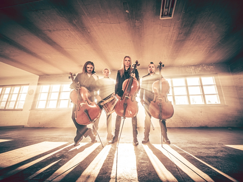 "APOCALYPTICA Announce New Album ""Cell-0""; First Single Unveiled"