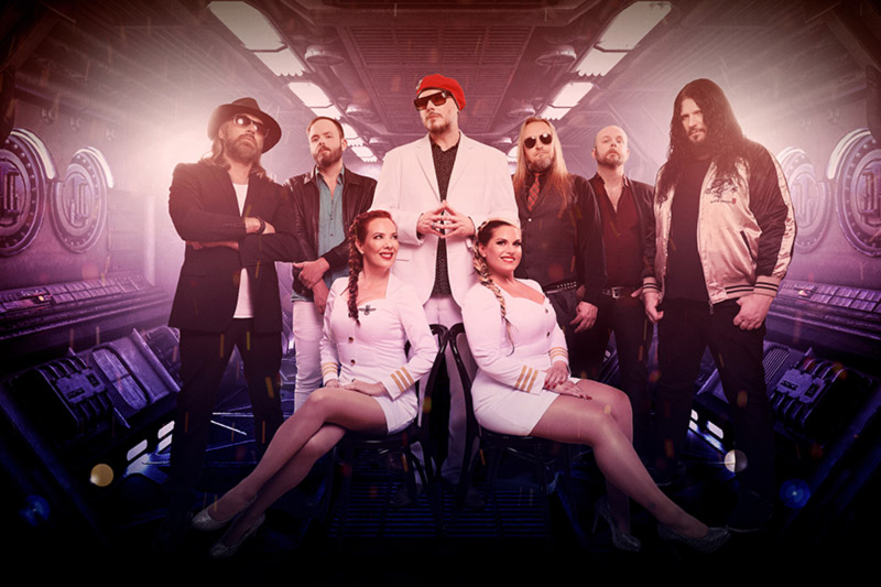 THE NIGHT FLIGHT ORCHESTRA release album teaser video and single 'Cabin Pressure Drops'