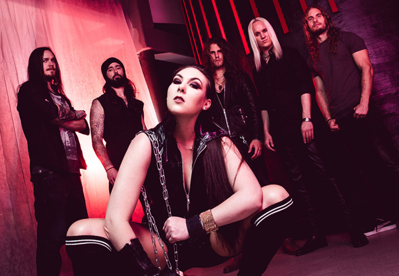 AMARANTHE launch 'Call Out My Name' drum cam video ahead of »Nordic Helix Tour 2019«