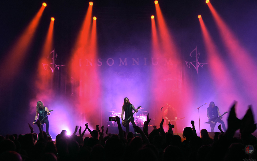 Insomnium, Red Moon Architect and Awake Again -Turku, Finland February 21, 2020