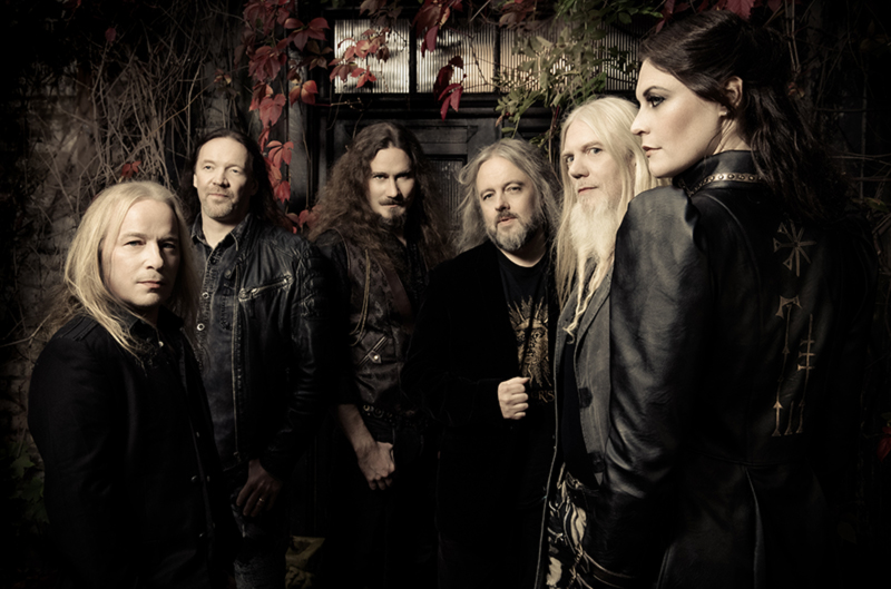 NIGHTWISH announce AMORPHIS as very special guest on their Europe tour!