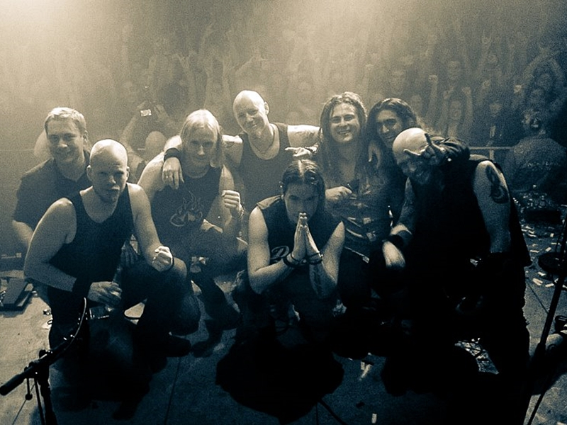 Legendary Finnish Band KIUAS Celebrates 20 Years from Founding with Live Release